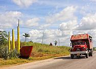 Truck in Orlando Nordase, Mariel, Artemisa, Cuba.