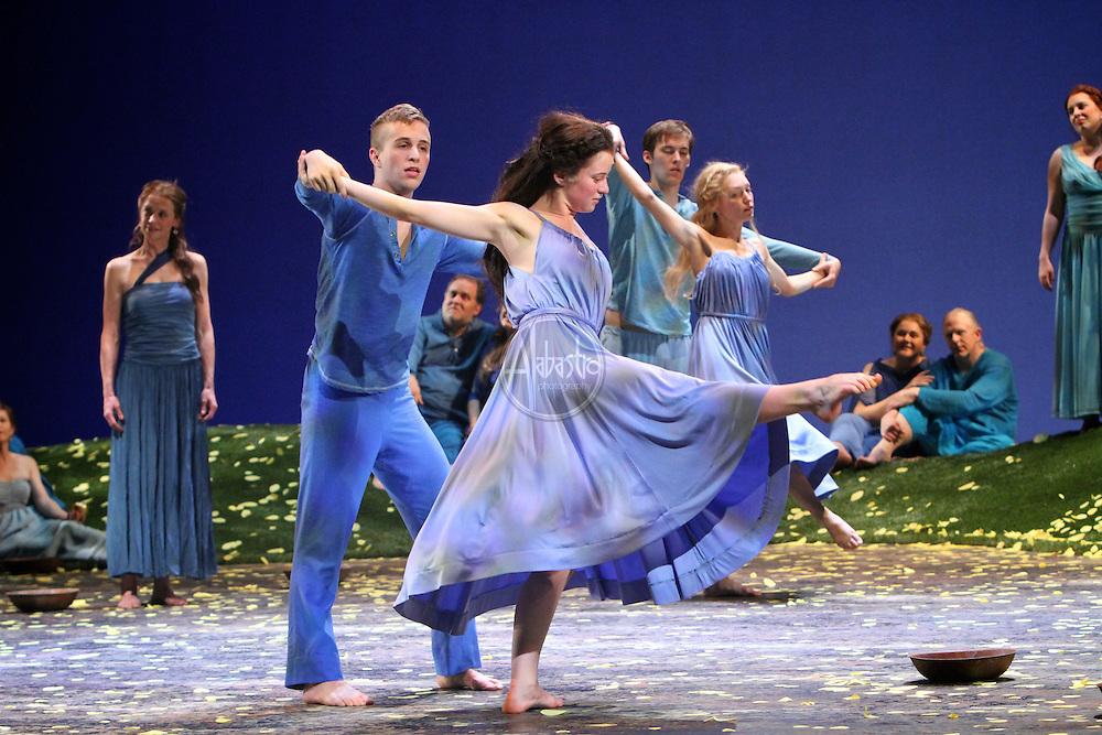 "Seattle Opera's production of ""Orpheus an Eurydice"" on February 2012."