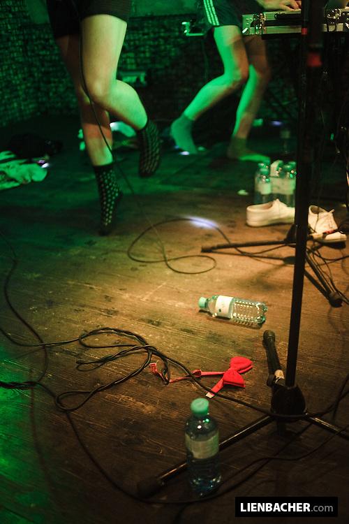 FM Belfast performing in the Rockhouse Salzburg. Photo: Wolfgang Lienbacher