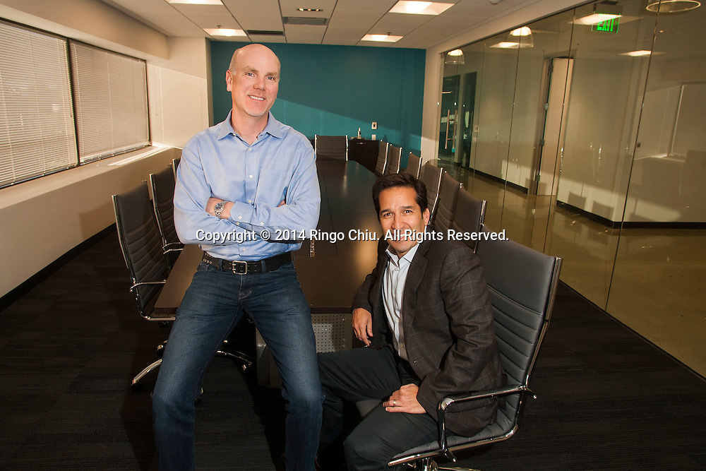 Rich Whitney, left, CEO, and Dr. Anthony Gabriel, COO of Radiology Partners.<br /> (Photo by Ringo Chiu/PHOTOFORMULA.com)