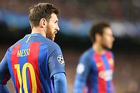 19.04.2017 - Barcellona  -  Quarti di finale  Champions League, Barcellona-Juventus , Nella foto:  Lionel Messi