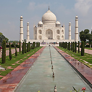 Taj Mahal Trip, India, Agra. Various locations around and in the Taj Mahal during September 2007 journey