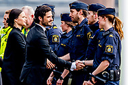 10-4-2017 STOCKHOLM - Attendance at official ceremony for the victims at the terrorist attack with a truck on 7 April , during the 1 minute silence<br /> The King King Carl Gustaf<br />  , The Queen Silvia , The Crown Princess Victoria , Prince Daniel, Prince Carl Philip, Princess Sofia COPYRIGHT ROBIN UTRECHT<br /> <br /> 2017/10/04 STOCKHOLM - Deelname aan de offici&euml;le ceremonie voor de slachtoffers in de aanval 7 april tijdens de 1 minuut stilte<br /> De koning Koning Carl Gustaf<br /> &nbsp; , De koningin Silvia, kroonprinses Victoria, Prins Daniel, Prins Carl Philip, prinses  Sofia aanslag van vrijdag in Stockholm. COPYRIGHT ROBIN UTRECHT aanslag , zweden , vrachtwagen , is , terrorist , asielzoeker,