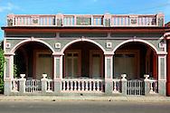 Building in San Antonio de Rio Blanco, Mayabeque, Cuba.