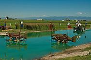 Eventing (equestrian triathlon), Cross Country event, Rebecca Farms, HSBC FEI World Cup Eventing, Kalispell, Montana, Kristi Nunnink, Holsteiner