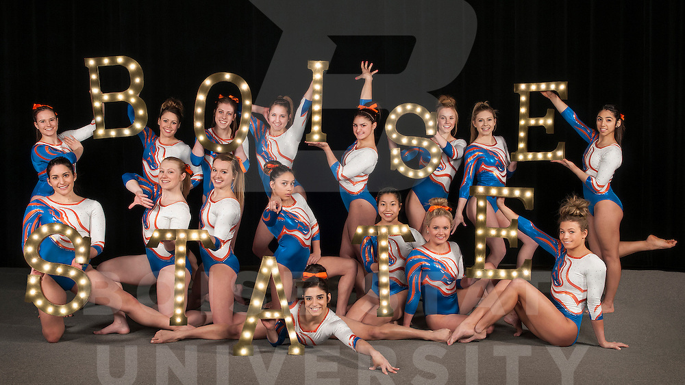 Gymnastics, poster group and class photos, Carrie Quinney photo