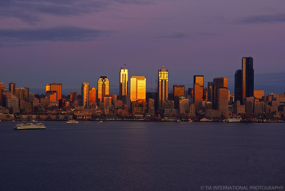 Seattle Skyline from West Seattle