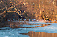 Goshen, New York - Late afternoon scenes on March 17,  2015.