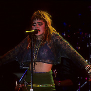 Madonna performing live at Madison Square Garden, N.Y. June 1985
