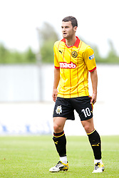 Partick Thistle's Thomas Stewart..Falkirk 2 v 1 Partick Thistle, 13th August 2011..© pic : Michael Schofield.