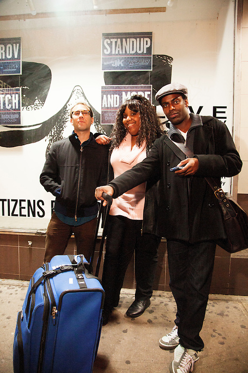 Louis Katz, Sharron Paul, Baron Vaughn - Whiplash - April 30, 2012 - UCB Theater, New York