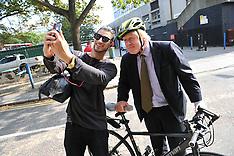 SEP 22 1014 Mayor London Boris Johnson visits Age UK