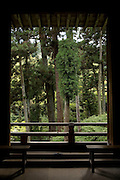 Much of the surrounding views of Ishiyamadera Temple remain unchanged since the days Lady Muraaki started writing the novel more than 1,000 years ago...