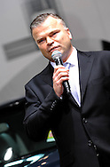 Audi's managing director - Joerg Hofmann.Media Preview .Melbourne International Motorshow.Melbourne Exhibition Centre.Clarendon St, Southbank, Melbourne .Friday 27th of February 2009.(C) Joel Strickland Photographics.