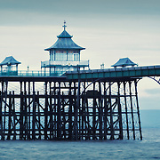 Clevedon pier in the Severn Estuary is the only complete grade 1 listed pier in the United Kingdom.