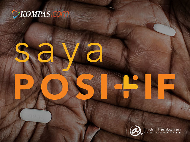 Kompas features Saya Positif for WORLD AIDS Day. December 1, 2015<br />