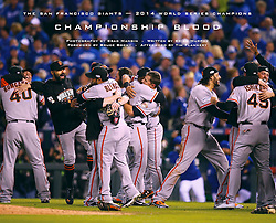 Championship Blood book, 2014 World Series Champion Giants