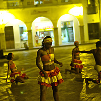 Nightlife in Cartagena.Mapale music and dance is perhaps one of the purest African found rythms on the Carribean.