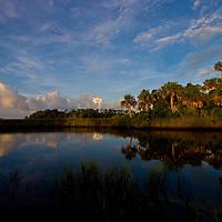 Lagoon sunrise Homosassa Springs, Florida