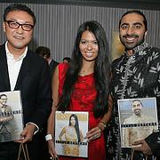 (L to R)  Jim pak, Christina Sevilla and Bharet Malhotra
