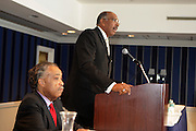 14 April 2010- New York, NY- l to r: Rev. Al Sharpton and Michael Steele, Chairman of The Republican National Committe at the National Action Network 12th Annual National Convention held at The Sheraton New York on April 14, 2010 in New York City.
