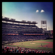 An Instagram of Nationals Park in Washington D.C.