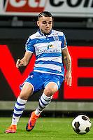 ROTTERDAM - Excelsior - PEC Zwolle , Voetbal , Eredivisie , Seizoen 2016/2017 , Stadion Woudestein , 21-10-2016 , PEC Zwolle speler Calvin Verdonk