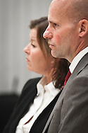 Geir Lippestad and Vibeke Hein Baera, the defenders of mass murderer Anders Behring Breivik.