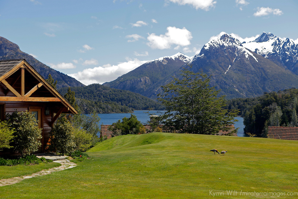 South America, Argentina, Bariloche. Llao Llao Resort & Golf Course.