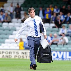 Bristol Rovers Manager Darrell Clarke arrives at Yeovil - Mandatory byline: Neil Brookman/JMP - 07966386802 - 15/08/2015 - FOOTBALL - Huish Park -Yeovil,England - Yeovi Town v Bristol Rovers - Sky Bet League One