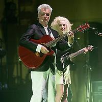 David Byrne and Annie Clark