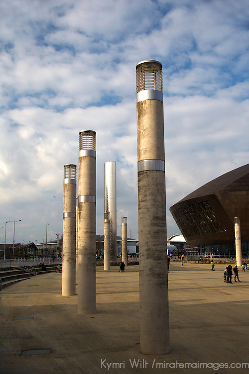 Europe, United Kingdom, Wales, Cardiff. Wales Millenium Center.