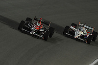 Marco Andretti, Dan Wheldon, Cafes do Brasil Indy 300, Homestead Miami Speedway, Homestead, FL USA,10/2/2010