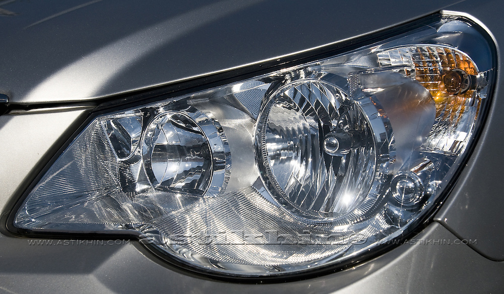Headlight of the car