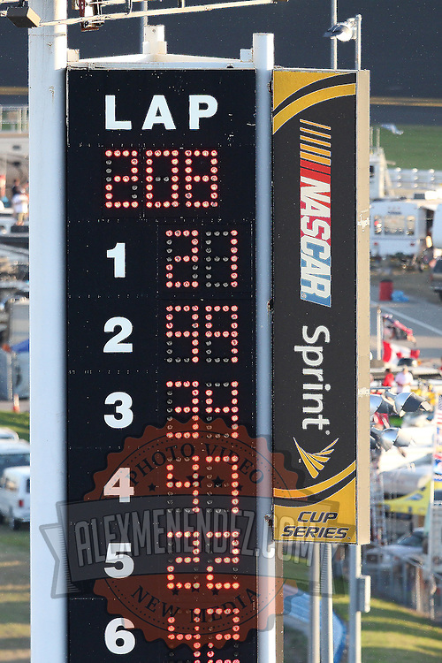 Daytona Scoreboard Final Alex Menendez