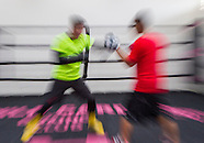 Boxing: Zou Shiming Media Workout