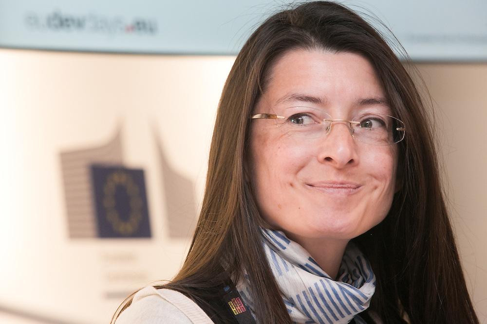 03 June 2015 - Belgium - Brussels - European Development Days - EDD - Growth - Responsible management of supply chains-The case of the garment sector - Thuy-Anne Stricher , <br /> Corporate Partnership Manager CARE France&copy; European Union