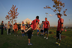 October 5, 2012; Ridgefield Park, NJ; USA; Images from the 2012 NJ AliveAndKickn Kickathon at the new Overpeck County Park in Ridgefield Park, NJ