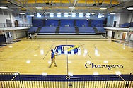 The new gym at Oxford High School, in Oxford, Miss. on Thursday, March 27, 2014.