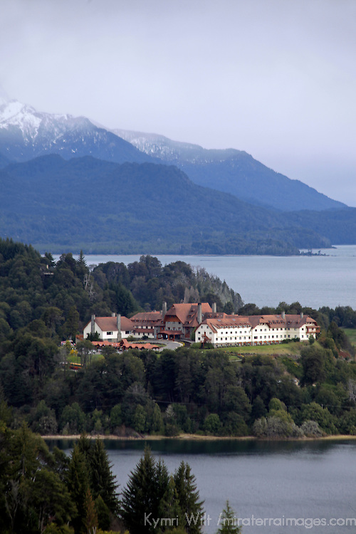 South America, Argentina, Bariloche. Llao Llao Resort in Patagonia.