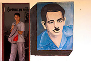 Wall painting near Pons, Pinar del Rio, Cuba.