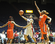 "Ole Miss' Shantell Black (11) vs. Auburn in women's college basketball at the C.M. ""Tad"" SMith Coliseum in Oxford, Miss. on Thursday, February 25, 2010."