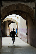 The white streets of Essaouira
