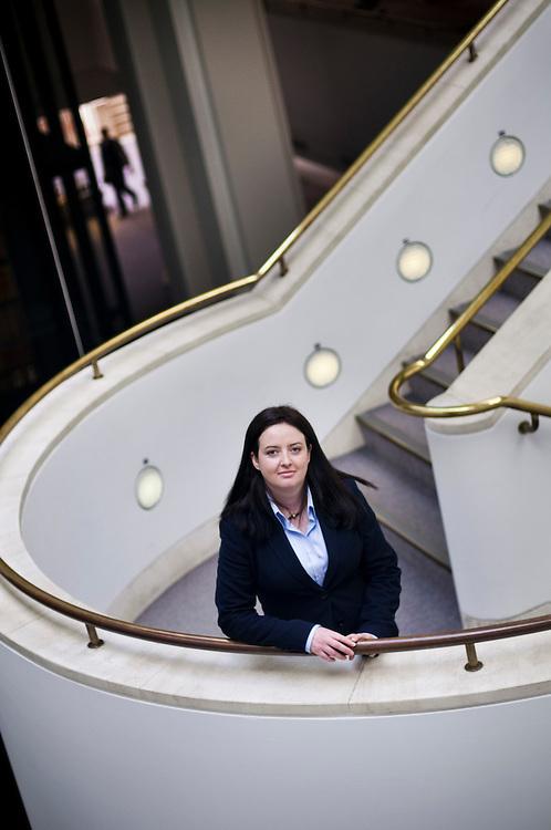 Catherine Mulligan, resarcher at Nottingham University Business School.Photographer: Chris Maluszynski /MOMENT