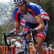 George Hincapie on the Brasstown Bald Climb in the 2007 Tour de Georgia