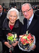 15-11-2016 BRUSSELS - King Albert and Queen Paola, Princess Astrid and Prince Lorenz and prince laurent of Belgium attend the Te Deum mass on Kings day at the Cathedral in Brussels, Belgium, 15 November 2016.  COPYRIGHT ROBIN UTRECHT  <br /> <br /> king koning albert queen koningin paola kingsday koningsdag te deum cathedral kathedraal samen together liefde princess prinses astrid prince prins lorenz  laurent