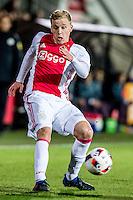 AMSTERDAM - Jong Ajax - FC Eindhoven , Voetbal , Jupiler league , Seizoen 2016/2017 , Sportpark de Toekomst , 24-02-2017 , Jong Ajax speler Donny van de Beek
