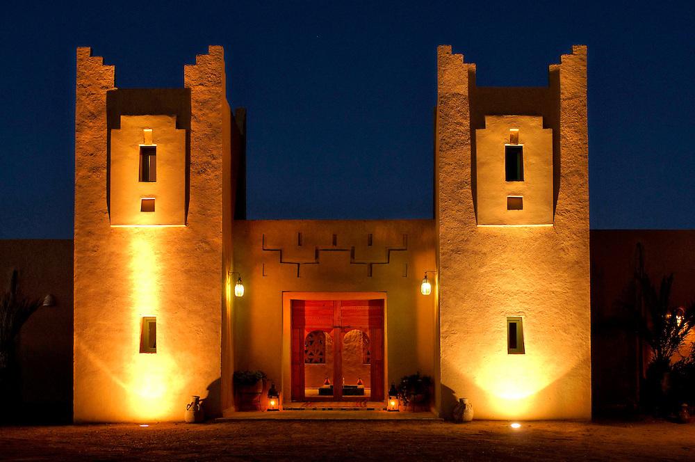 Dar El Janoub, Hotel, Erg Chebbi,  Merzouga, Morocco