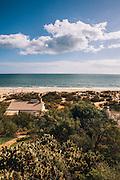 Praia Verde beach. Castro Marim, Alentejo