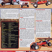 Page 46 of Desert Sports and Recreation Magazine Volumn 1, Issue 5 featured images taken of a sand rail named Problem Child and an article that I wrote about the car.